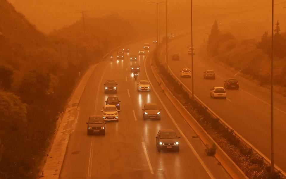 Νέο κύμα αφρικανικής σκόνης στην Κρήτη