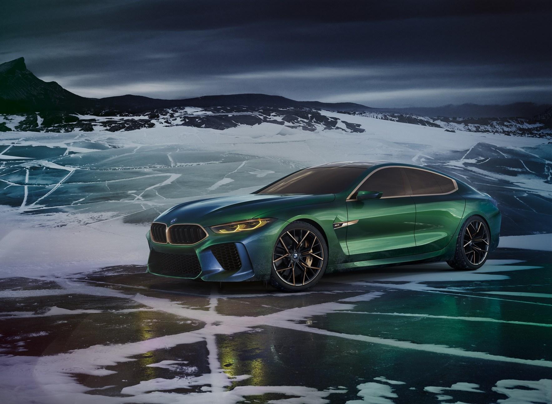 BMW Concept M8 Gran Coupe: Έμφαση στην πολυτέλεια