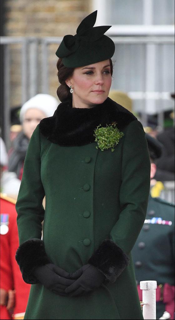 H Kate Middleton είπε να γιορτάσει την Saint Patrick's Day και υπερέβαλλε λίγο…