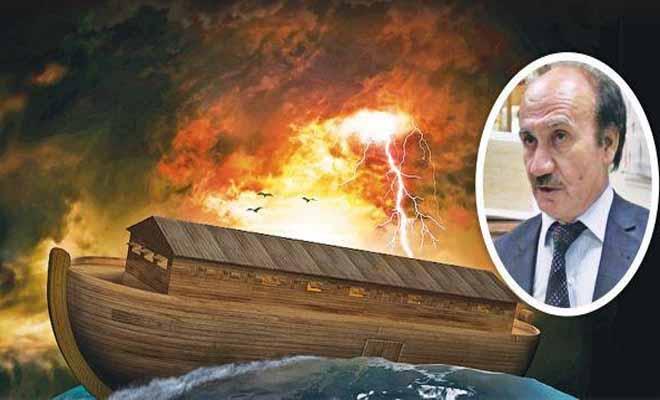 Τούρκος ακαδημαϊκός λέει ότι ο Νώε είχε κινητό και ότι η κιβωτός ήταν πυρηνοκίνητη
