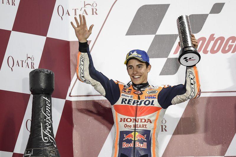 MotoGP 2018 : 1ος Γύρος – Grand Prix Κατάρ – O Marquez στο βάθρο