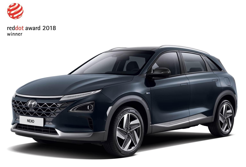 Βραβείο Σχεδιασμού Red Dot Award για τα νέα Hyundai KΟΝΑ και NEXO