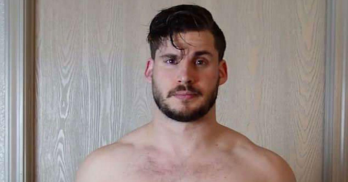 Ένας άνδρας δείχνει πώς μεταμόρφωσε το σώμα του σε 12 βδομάδες [βίντεο]