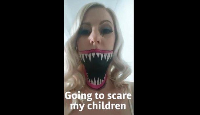 Μητέρα αποφάσισε να τρομάξει τις κόρες της και το αποτέλεσμα είναι ξεκαρδιστικό [βίντεο]