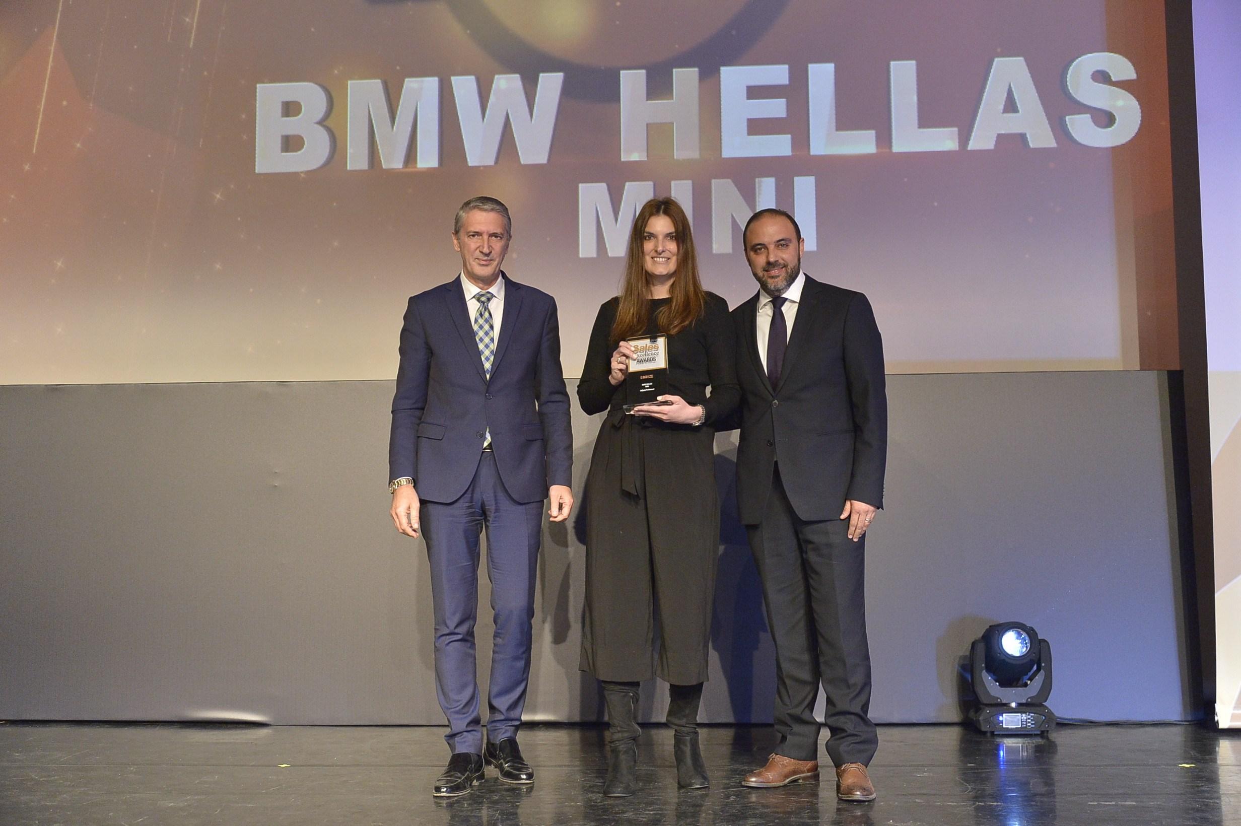 Βράβευση της MINI στα Sales Excellence Awards 2018