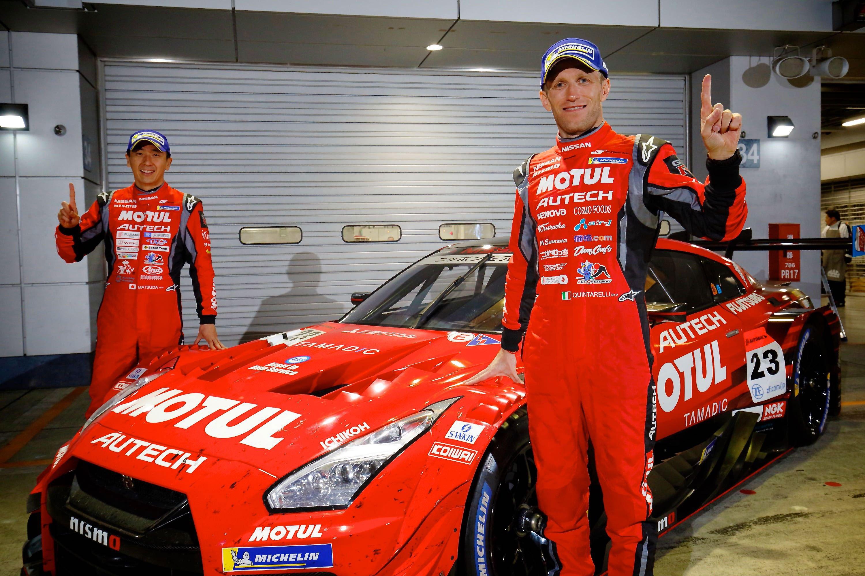 Στην πίστα του Fuji Speedway, η Nissan πήρε τη νίκη στο Super GT