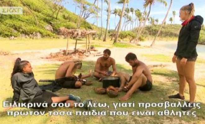 Survivor 2: Επίθεση! «Προσβάλλεις τους αθλητές με αυτά που λες! – Δεν φέρνεις νίκες γι'αυτό τα λες»! – Τι έγινε; [Βίντεο]