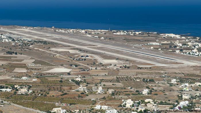 Γερμανοί τουρίστες: «Νομίσαμε ότι η Σαντορίνη ήταν το αεροδρόμιο της Σκιάθου»