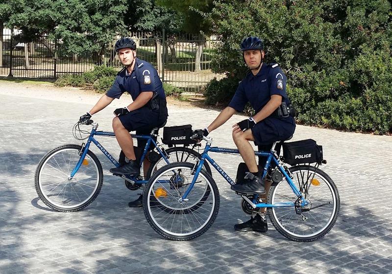 Έρχονται οι αστυνομικοί με ποδήλατα στην Κρήτη