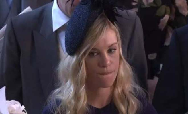 H πρώην του Πρίγκιπα Χάρι έσκασε από τη ζήλια της στον γάμο – Οι γκριμάτσες της είναι το απόλυτο viral [Εικόνες-Βίντεο]