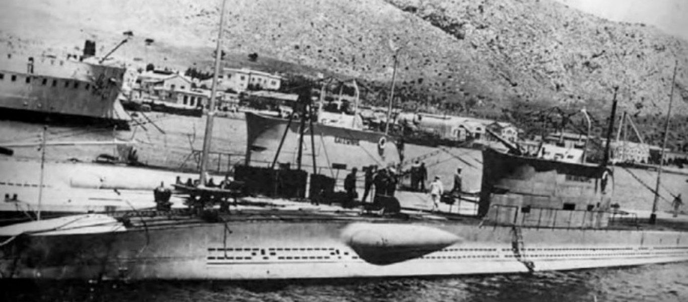 Εντοπίσθηκε η ακριβής θέση του ιστορικού ναυαγίου του υποβρυχίου «Κατσώνης»