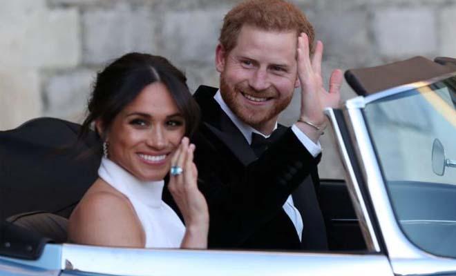 Το λάθος στη φωτογραφία γάμου του πρίγκιπα Χάρι με τη Μέγκαν Μαρκλ