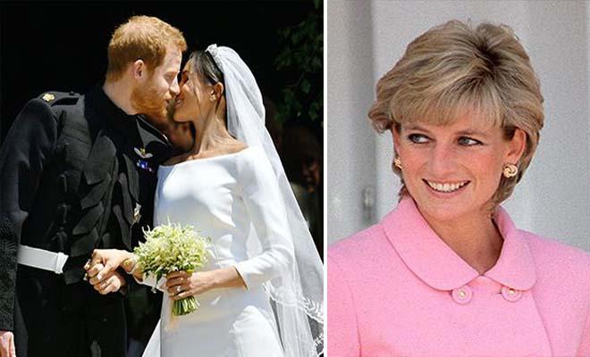 Πώς ο πρίγκιπας Χάρι και η Μέγκαν Μαρκλ τίμησαν την πριγκίπισσα Νταϊάνα στο γάμο τους [Εικόνες]