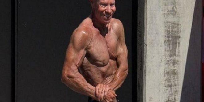 84χρονος bodybuilder στο βιβλίο Γκίνες 2018!