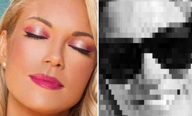 H Βίκυ Καγιά ποζάρει στα 40 της χωρίς ίχνος μακιγιάζ και Φίλτρα [Εικόνες]