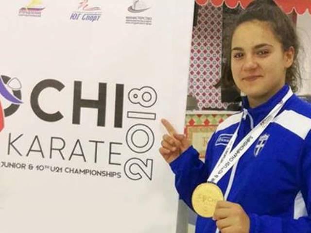 Η Κέλλυ Κυδωνάκη προκρίθηκε στους Ολυμπιακούς Αγώνες Νέων