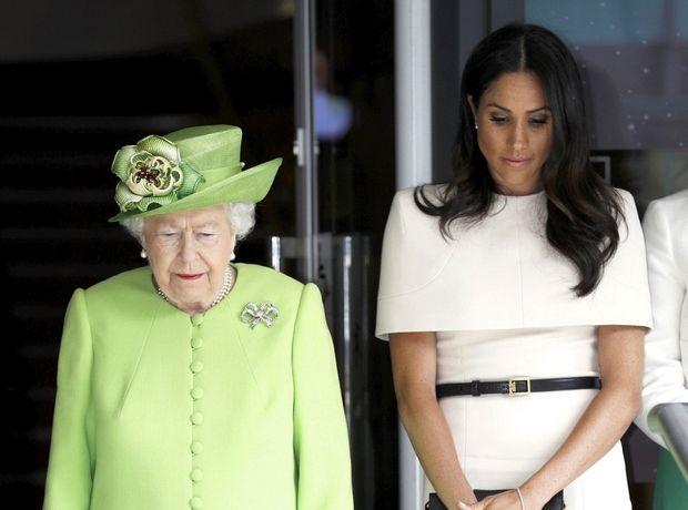H Meghan Markle σε μία εμφάνιση που επιβεβαιώνει τον τίτλο της Δούκισσας