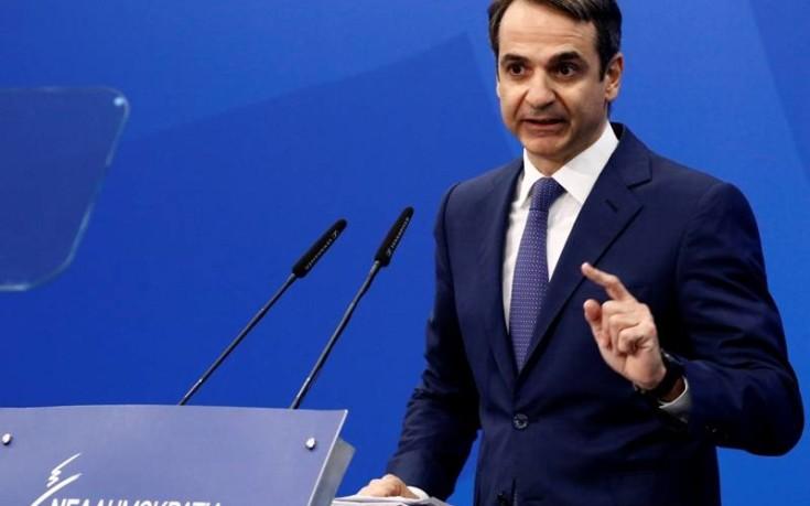 Μητσοτάκης: Ο Τσίπρας είναι ο πρωθυπουργός της βίας και της ανομίας