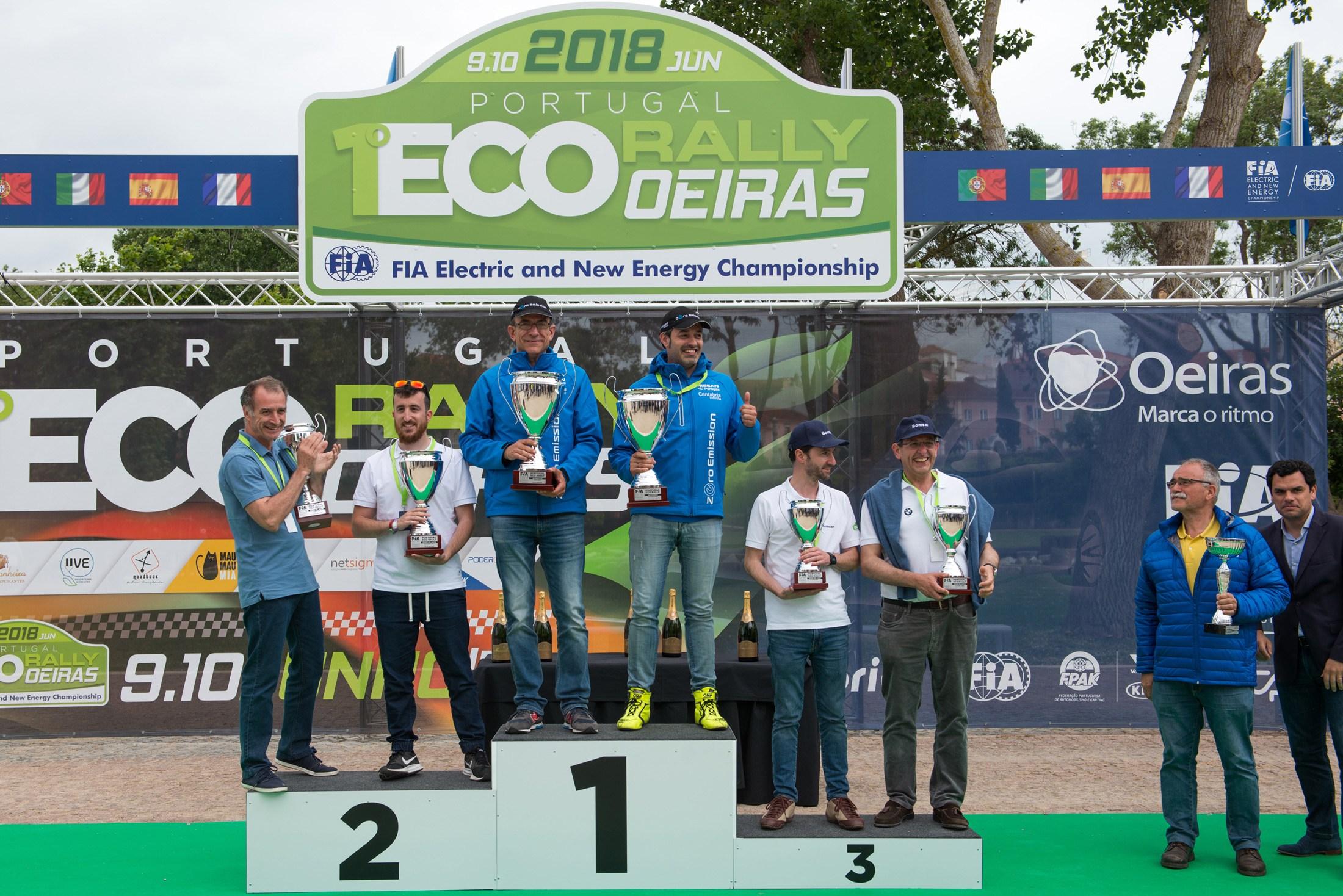 Νίκη για τη Nissan #ecoteam στο EcoRallye Πορτογαλίας