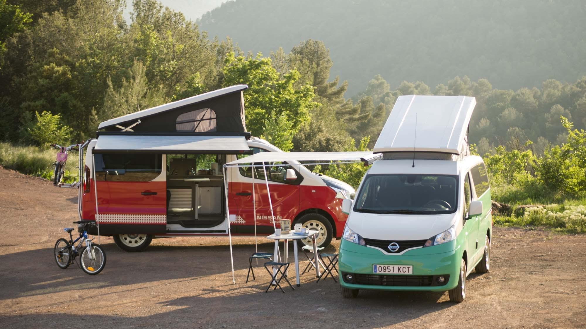Το καλοκαίρι στη Μαδρίτη γίνεται πιο συναρπαστικό,με τα Nissan Camper van