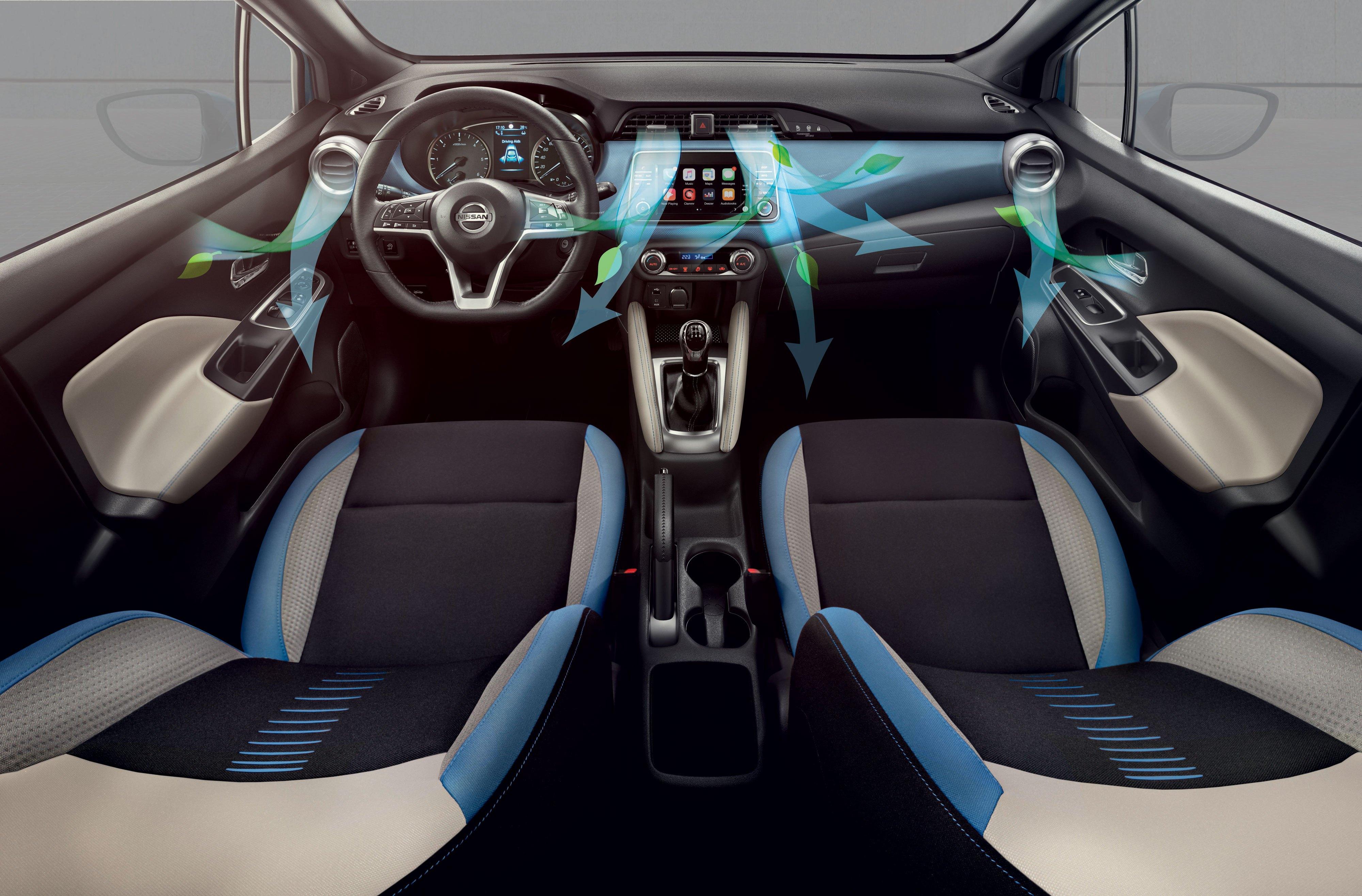 Προστασία και ευεξία των επιβατών  με τα νέα φίλτρα αέρος  καμπίνας σε μοντέλα της Nissan