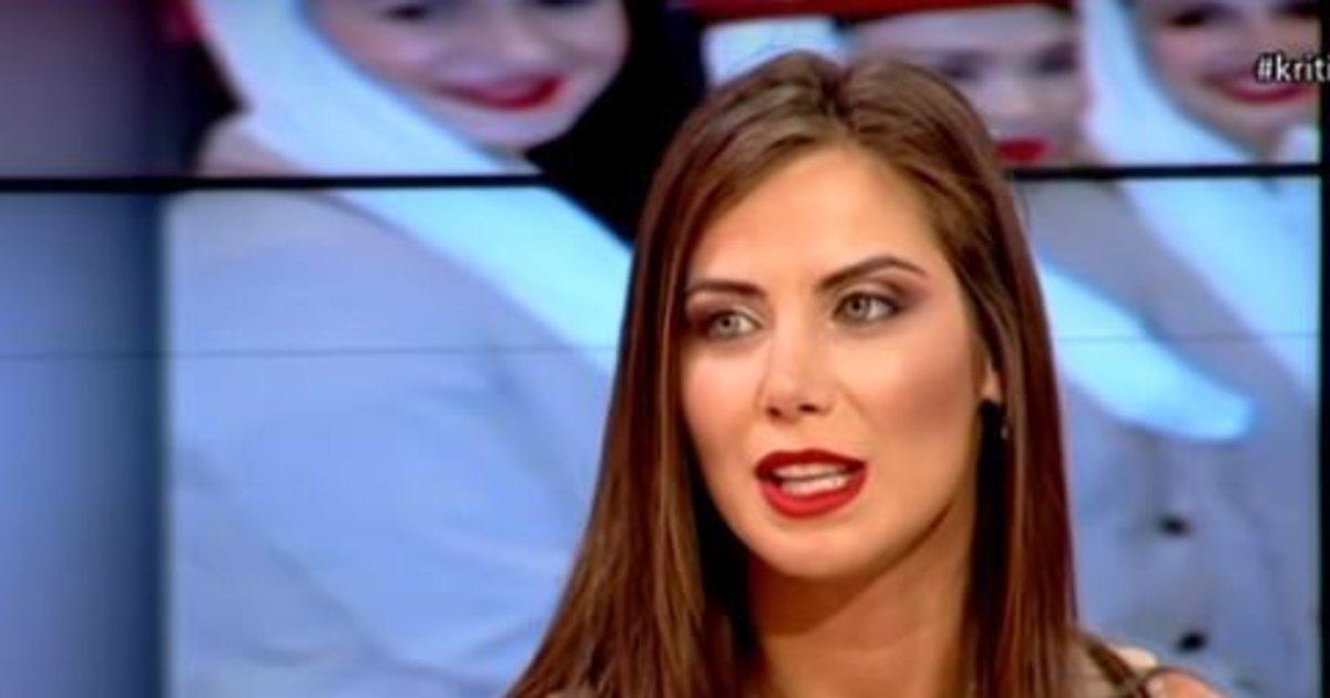 Κυριακή Κατσογρεσάκη: Η πανέμορφη Κρητικιά αεροσυνοδός της βασιλικής οικογένειας στη Σαουδική Αραβία [φωτο+βίντεο]