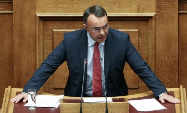 Σταϊκούρας: Η κυβέρνηση στεγνώνει την πραγματική οικονομία