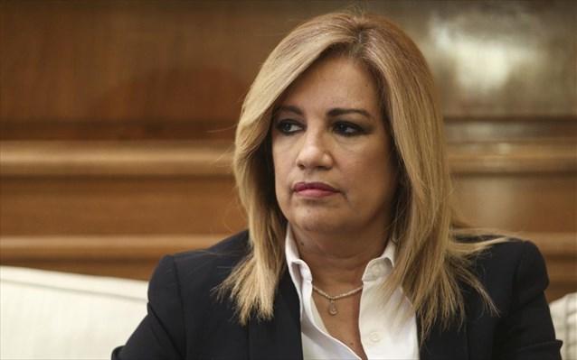 Γεννηματά: O Τσίπρας πήγε απροετοίμαστος στη συνάντηση με τον Ερντογάν