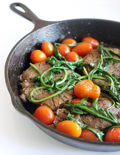 Η πιο εύκολη συνταγή για μπριζόλα