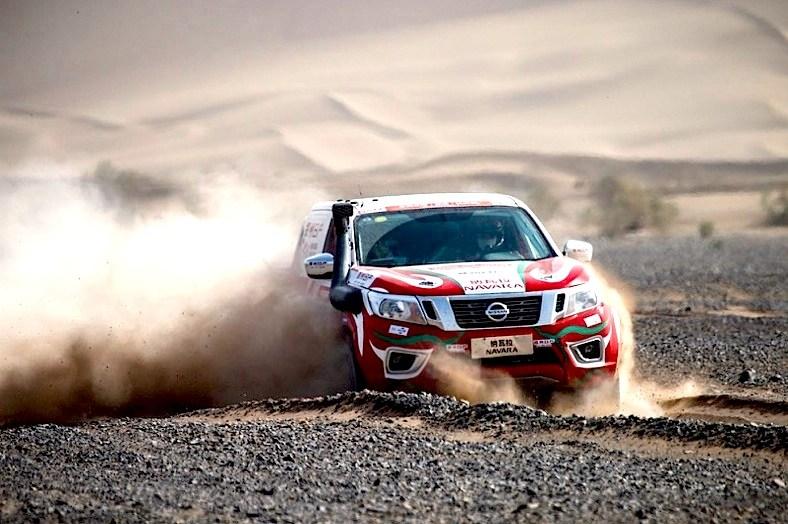 Νίκη για τo Nissan NAVARA στην Κίνα στο Ράλι του Taklimakan