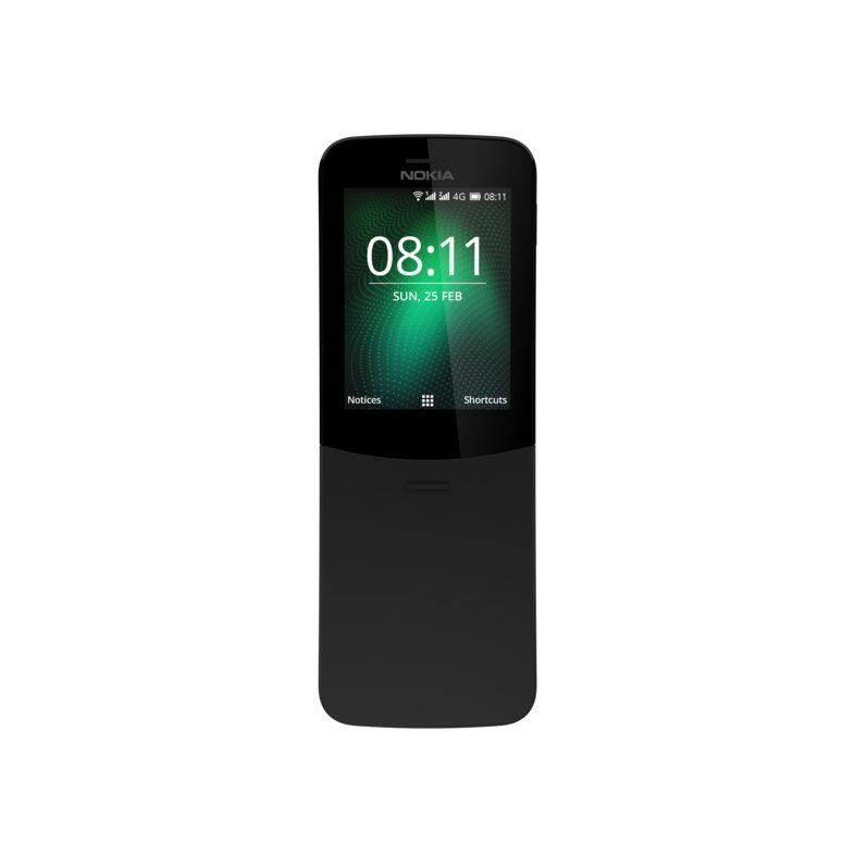 Το κινητό – θρύλος των 90s, Nokia 8110, σε μαύρο χρώμα, αποκλειστικά στον ΓΕΡΜΑΝΟ