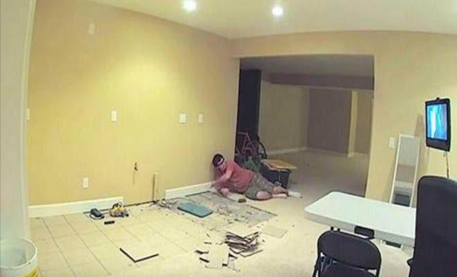 Ο Άντρας της κατέβηκε στο υπόγειο και ξεκίνησε να μαστορεύει. 20 Μέρες μετά, την φώναξε να το δει. Εντυπωσιακό! [Βίντεο]