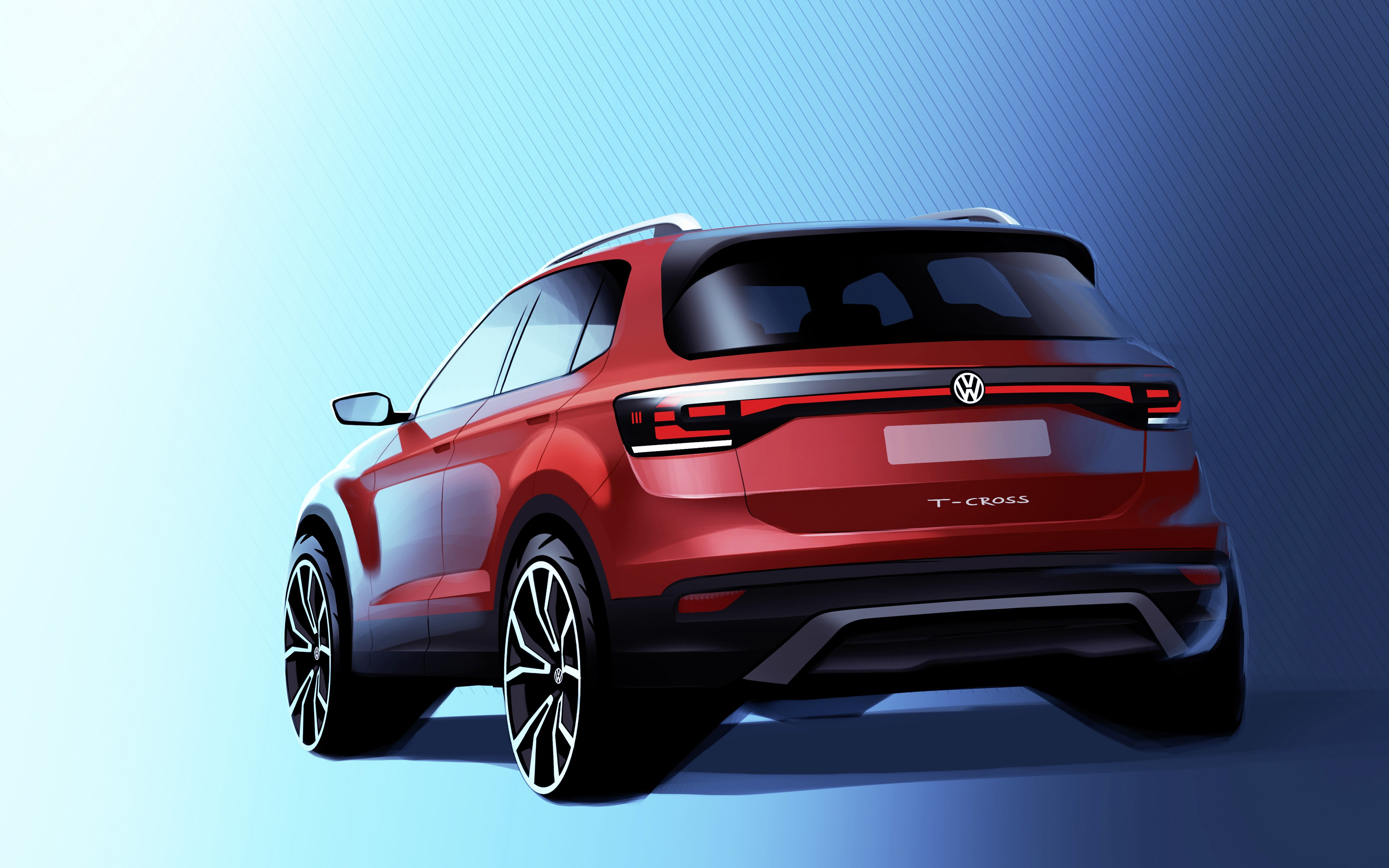 Οι πρώτες εικόνες του νέου Volkswagen T-Cross