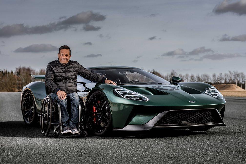 Ένας ξεχωριστός προσκεκλημένος επισκέφθηκε την αγωνιστική ομάδα της Ford στο Le Mans
