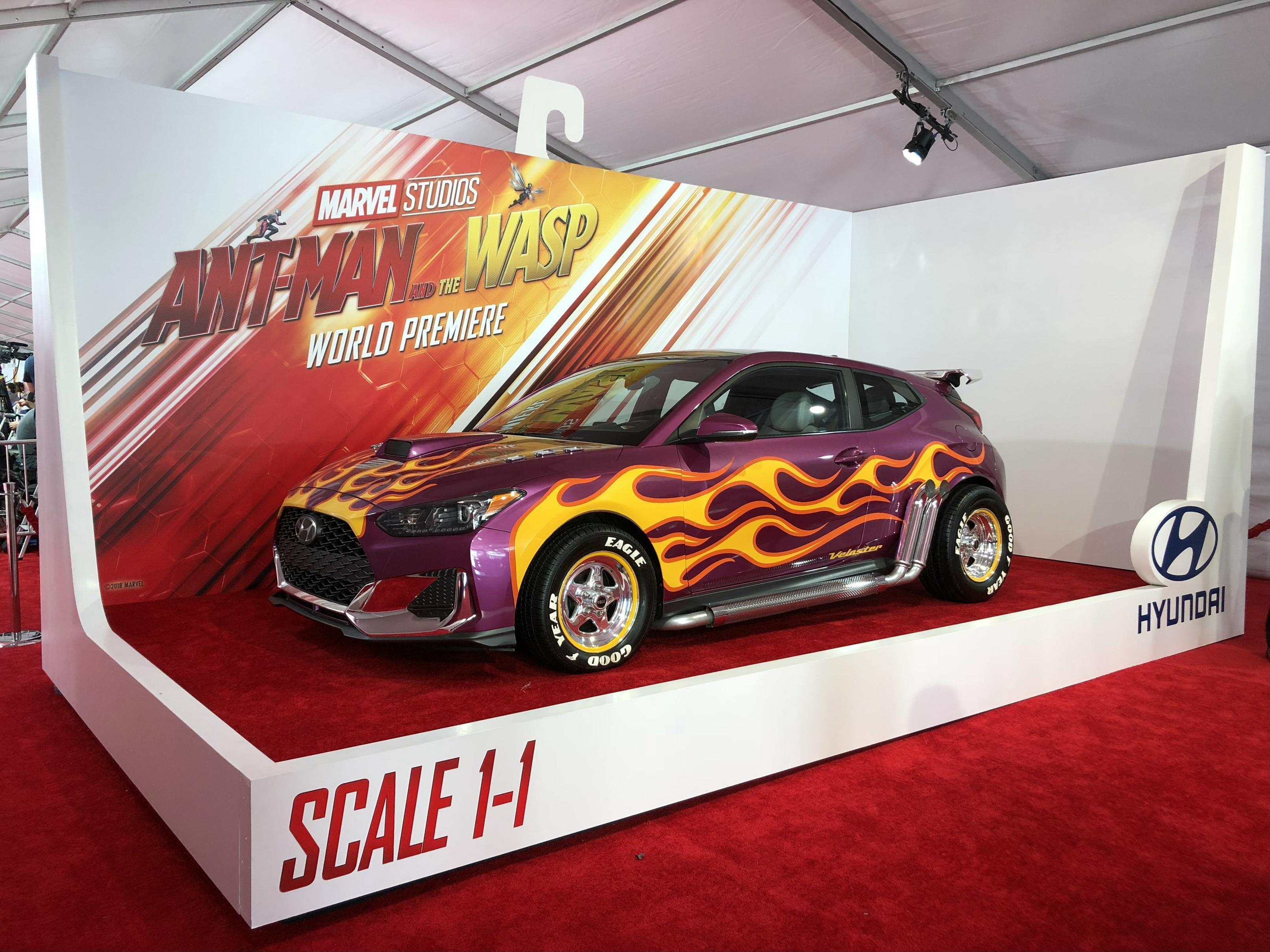 Η Hyundai γιορτάζει το ντεμπούτο της στο Hollywood και ενισχύει τη συνεργασία της με τη Marvel