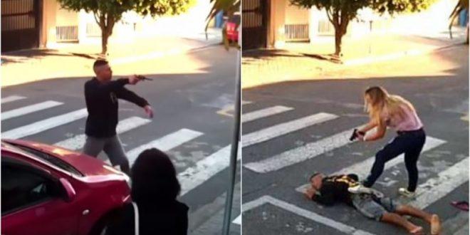 Μαμά – κομάντο στη Βραζιλία ξεφτίλισε και εξουδετέρωσε ένοπλο κακοποιό που πήγε να την ληστέψει έξω από σχολείο