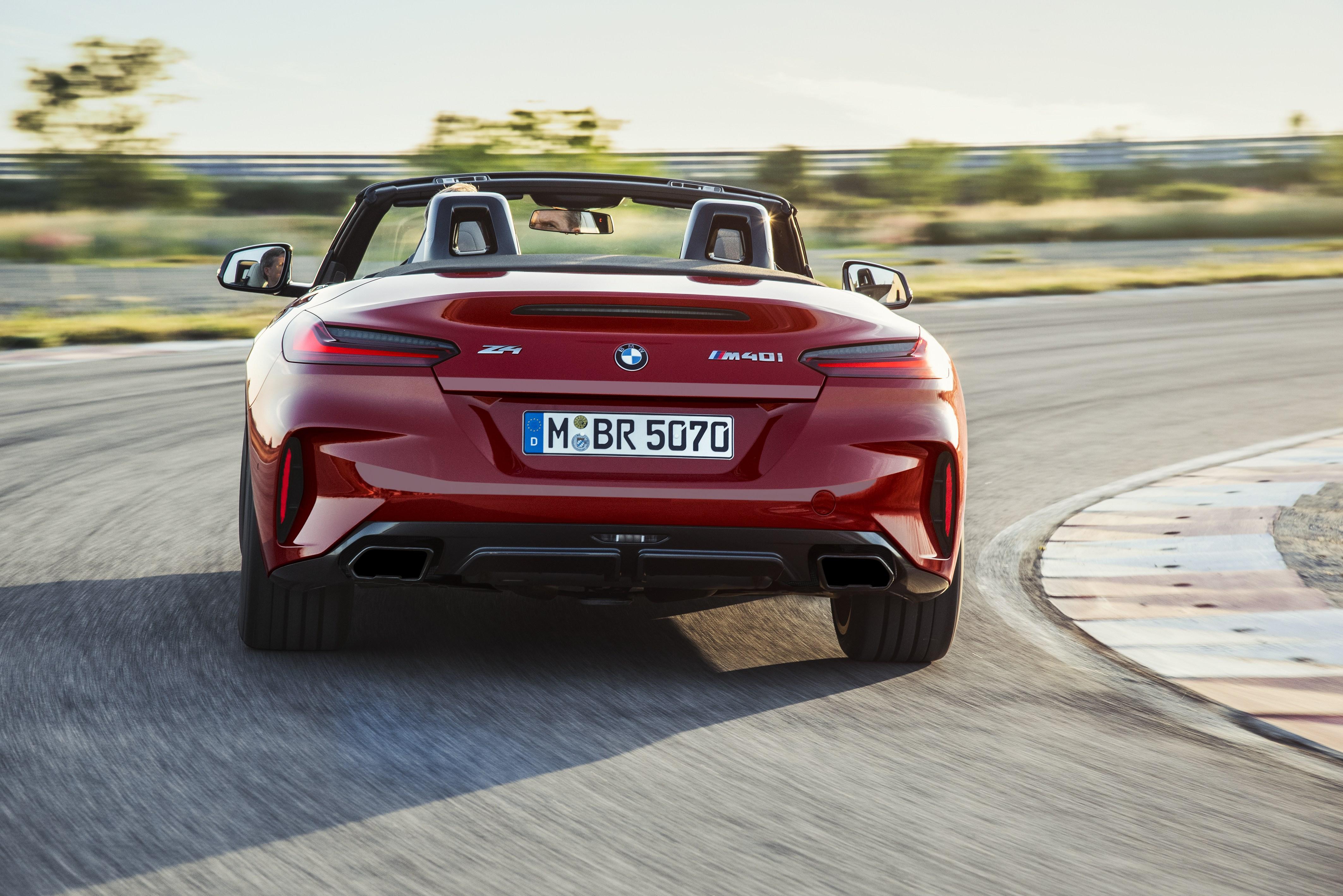 Παγκόσμια Πρεμιέρα της νέας BMW Z4 στο Pebble Beach