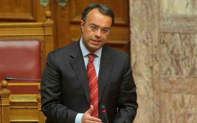 Σταϊκούρας: Η κυβέρνηση αναβάλλει πάλι την εξόφληση των ληξιπρόθεσμων οφειλών του Δημοσίου