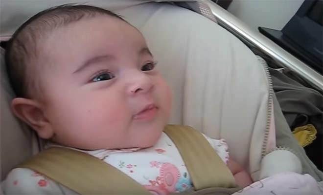 Είναι μόλις 3 μηνών…και μπορεί και τραγουδάει! Αυτό πρέπει να το ακούσετε!!(ΒΙΝΤΕΟ)