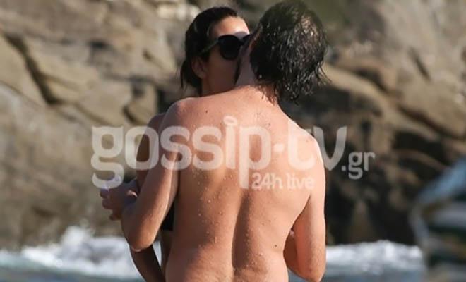 Επιτέλους τους Τσακώσαμε: Για Πρώτη Φορά το Ζευγάρι της Ελληνικής Σόουμπιζ Πιάστηκε να Φιλιούνται on Camera! [Εικόνες]