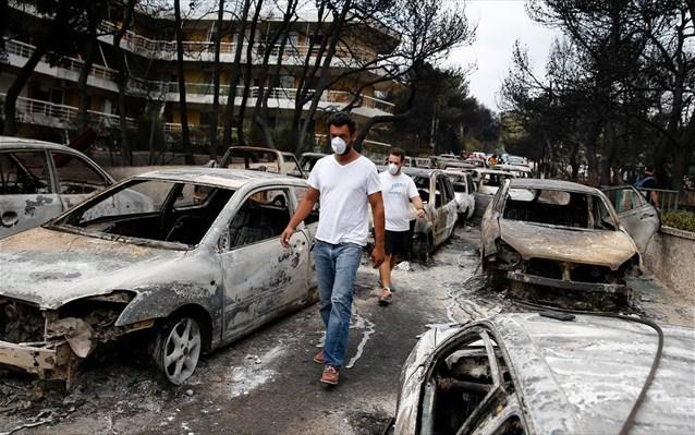 Φωτιά στην Αττική: Πάνω από 33,7 εκατ. ευρώ οι αποζημιώσεις των ασφαλιστικών εταιρειών