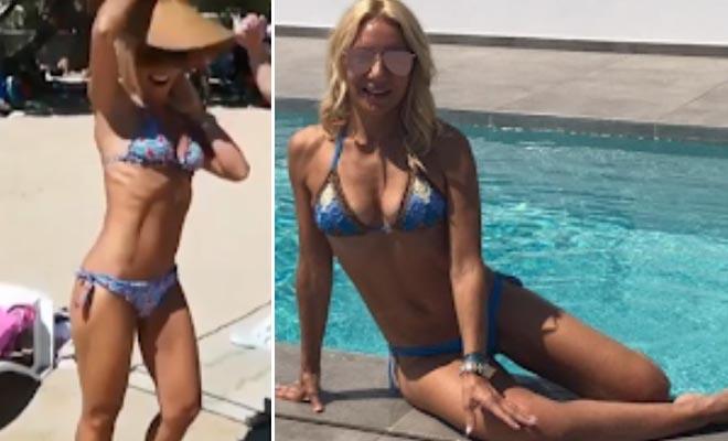 Ετών 54, αλλά δείχνει 20: Η γυναίκα του Μάρκου Σεφερλή έχει το πιο fit σώμα στην Ελλάδα [Εικόνες]