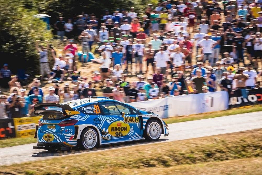 «Αέρα» πάει ο καβαλιώτης οδηγός με το πανίσχυρο Ford Fiesta WRC