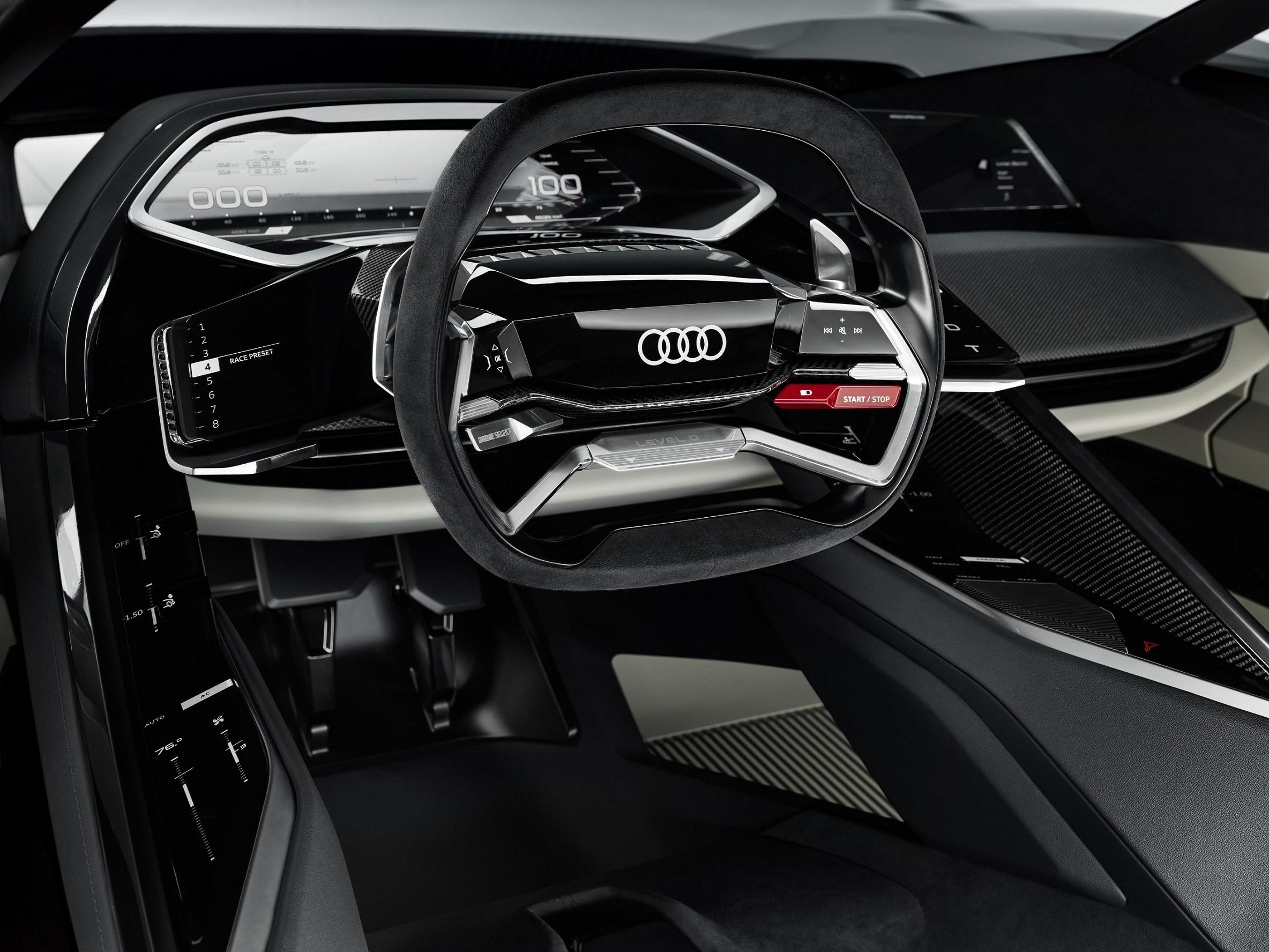 Παγκόσμια πρεμιέρα για το σπορ πρωτότυπο Audi PB18 e-tron