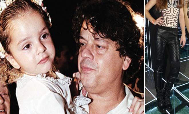 Η Κόρη του Βλάσση Μπονάτσου Μεγάλωσε και είναι Ίδια ο Μπαμπάς της! [Εικόνες]