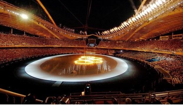 Η ανατριχιαστική έναρξη των Ολυμπιακών Αγώνων της Αθήνας