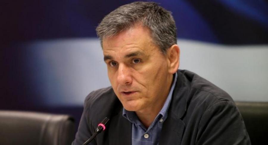 Τσακαλώτος: Η Τουρκία δεν επηρεάζει την καθαρή έξοδο της ελληνικής οικονομίας από τα μνημόνια