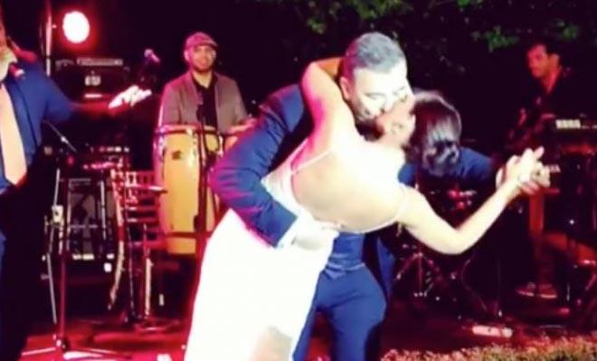 Γάμος Ρέμου-Μπόσνιακ: Το ρουφηχτό φιλί στο στόμα και ο… Αλλιώτικος χορός! [Βίντεο]