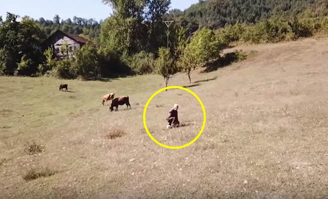 Τούρκος βοσκός δεν είχε ξαναδεί ποτέ ντρον και έτρεξε να σωθεί [Βίντεο]