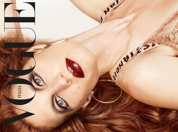 H Gisele πραγματικά αγνώριστη στο εξώφυλλο της ιταλικής Vogue